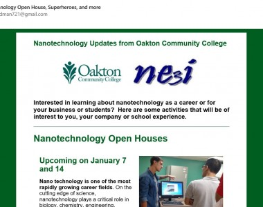 Oakton Nanotechnology Program